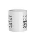 I Only Frown Because Smiling Doesn't Use Enough Calories Ceramic Mug